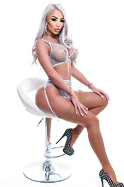 round butt high heels model sitting on chair