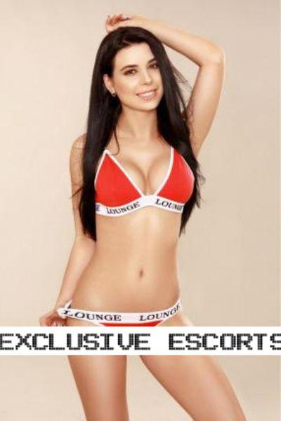 young escort in lounge underwear